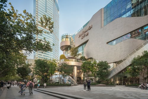 Architecture by UNStudio seen at Xintiandi Style Shopping Centre, Huangpu Qu - Xintiandi Plaza (2016 - 2019)