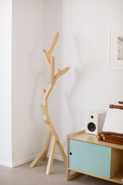 Furniture by Housefish seen at Private Residence, Brooklyn - Arbor Coat Rack