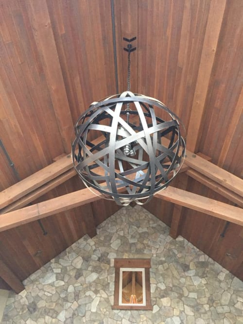 Chandeliers by Stil Novo Design seen at Auburn - CA, Auburn - Orbits Ceiling Lamp