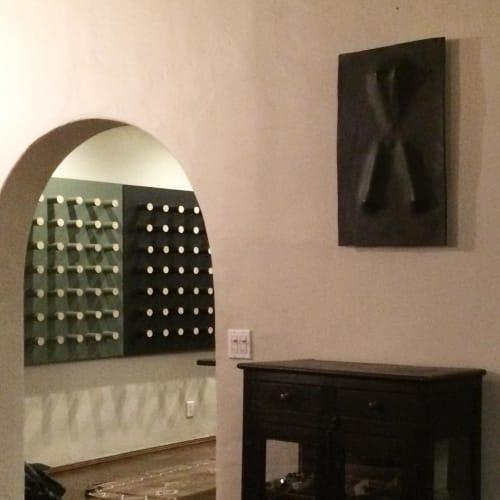 Sculptures by Luke Shalan seen at Bradley Duncan Studio, Los Angeles - Garden Shears