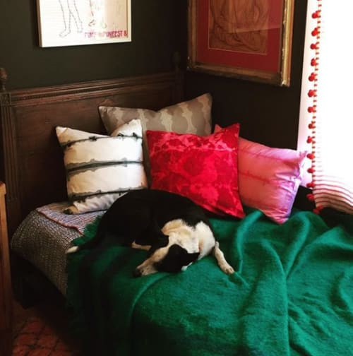 Pillows by MYER SF seen at Private Residence, San Anselmo - various one off pillows