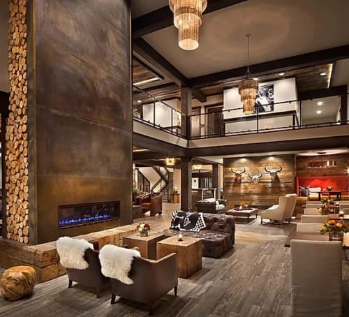 Interior Design by Jennifer Michele LLC seen at The Firebrand Hotel, Whitefish - Firebrand Boutique Hotel