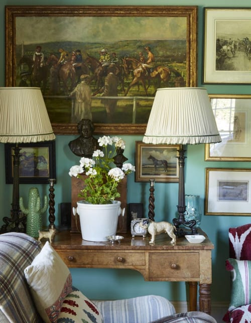 Paintings by Tod Ramos seen at Private Residence - Cheltenham Races
