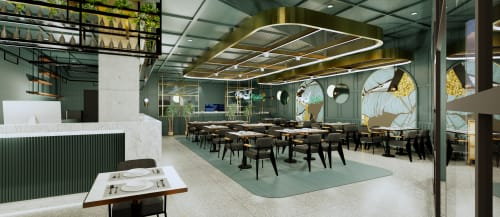 Interior Design by Studio Hiyaku seen at Westfield Mt Druitt, Mount Druitt - Pho master