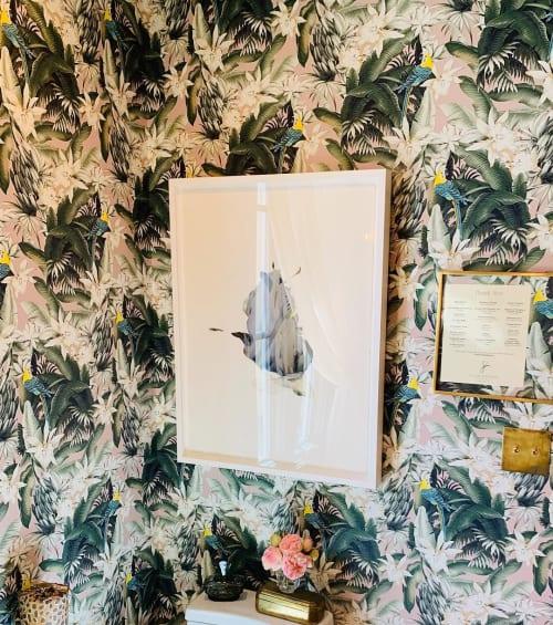 Art & Wall Decor by Lisa Mccutcheon seen at SF Decorator Showcase 2019, San Francisco - Feathers