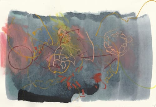 Paintings by Melissa Mohammadi seen at Private Residence, San Francisco - Rotation