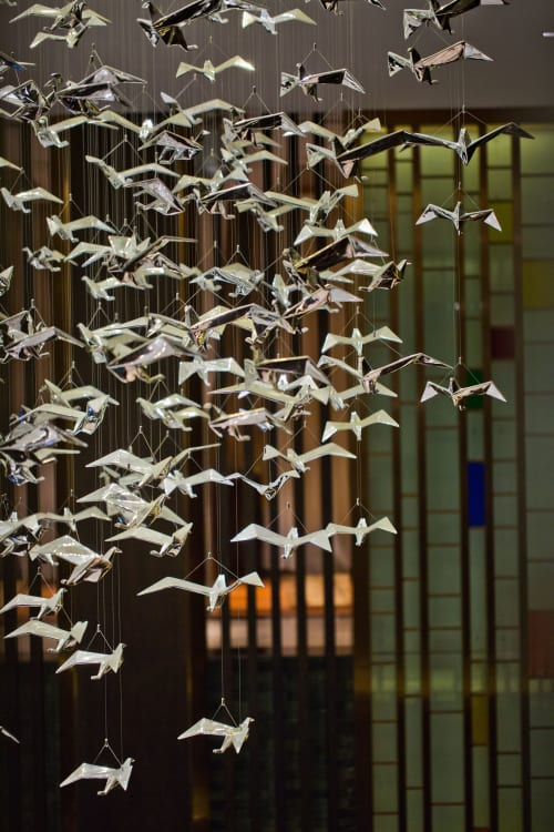 Chandeliers by Jako Lighting seen at Conghua, Guangzhou - Bird Chandelier