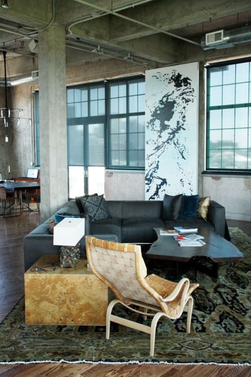 Murals by Mindy Bray seen at Private Residence, Denver - Archipelago