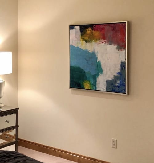 Paintings by George Ayres seen at Private Residence, Colorado Springs - Coast of Maine #1