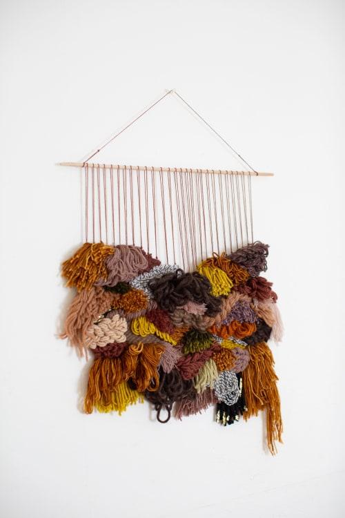 Cedarville | Wall Hangings by Keyaiira | leather + fiber