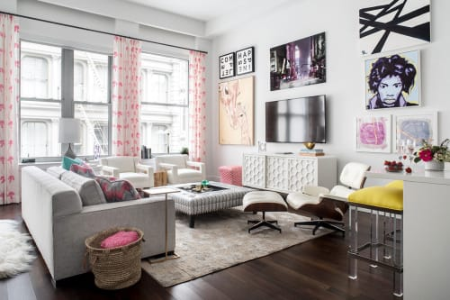 Interior Design by Jennifer Connell Design at Private Residence, New York - The Soho Loft