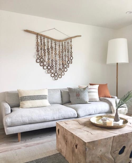 Wall Hangings by Heather Levine seen at Private Residence, Los Angeles - Wall hanging