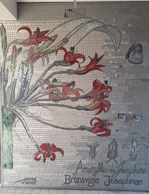 Murals by Mosaics Etc seen at Private Residence, Plettenberg Bay - Brunsvigia 2019