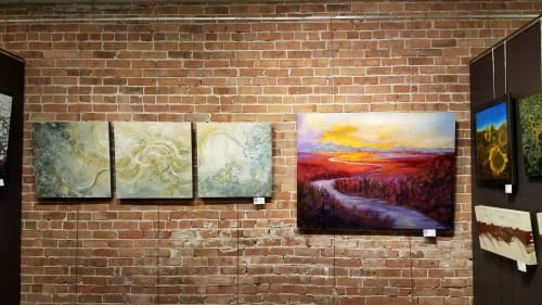 Art Curation by Mary Kollman Fine Art seen at Main Street Gallery, Grand Junction - Mary Kollman Fine Art