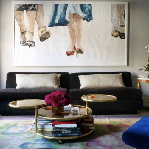 Paintings by Kelly Inouye seen at Private Residence, New York - Dolly's Heels