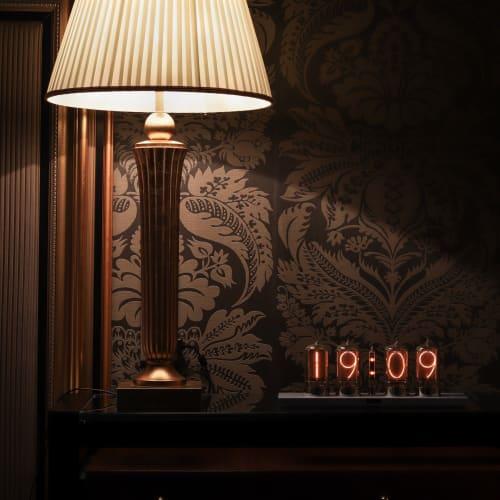 Interior Design by Dalibor Farny seen at Mírové nám. 316/2, Karlovy Vary - Puri Nixie Clock for Grandhotel Pupp