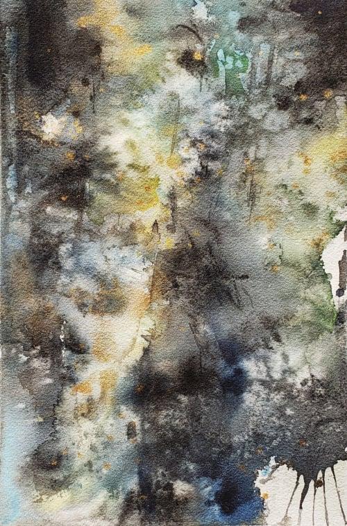 Dark Times   Paintings by Brazen Edwards Artist