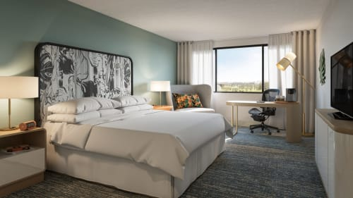 Interior Design by Puccini Group at Sheraton Miami Airport Hotel & Executive Meeting Center, Miami - Interior Design