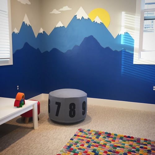 Murals by Shannon Geis Murals seen at Private Residence, San Mateo - Kids Room Mural