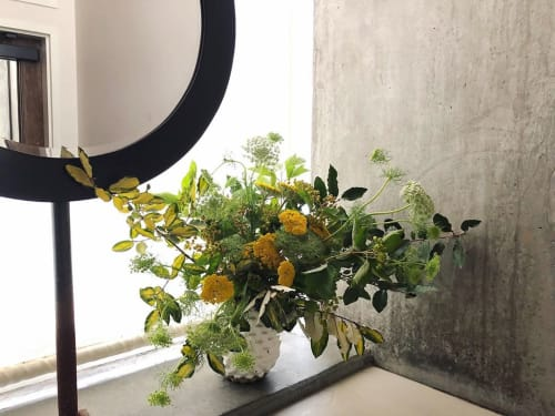 Plants & Flowers by Wallflower Design seen at Trou Normand, San Francisco - Umbels and Eleagnus