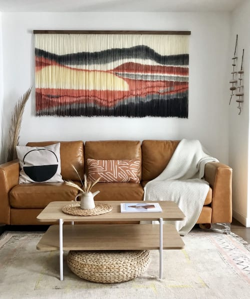 Wall Hangings by Kait Hurley Art seen at Private Residence, Rancho Palos Verdes - Sunset