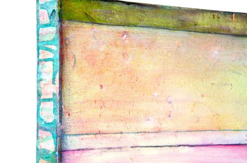 Paintings by Virginia Bradley Art seen at Massachusetts - St. Croix 9 - Beach