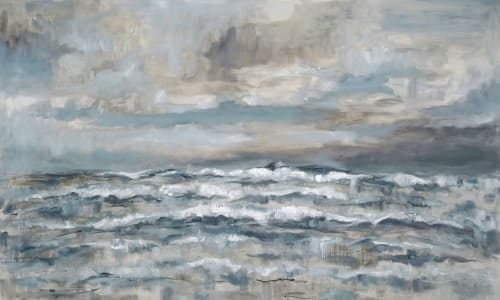 Paintings by Jeffrey Nemeroff seen at Private Residence, San Francisco - Seascape