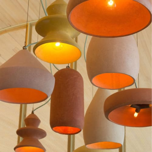 Pendants by Brandon Mike at ATX Cocina, Austin - Pendant Lighting