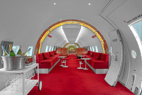 Lighting Design by Stonehill Taylor seen at Connie Cocktail Lounge at the TWA Hotel, Queens - Lighting Design