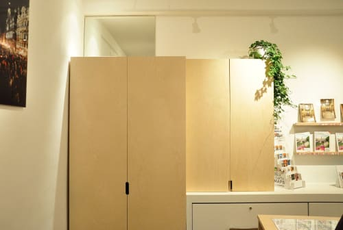 Architecture by AMORCE Studio seen at visit.brussels, Bruxelles - Visit