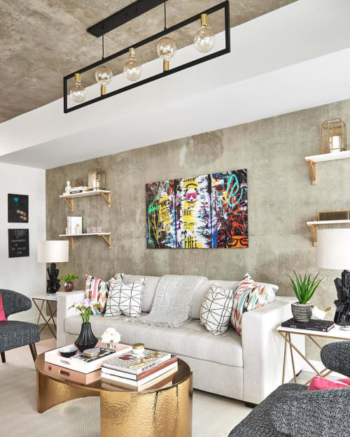 Paintings by Dani Cooperman seen at Private Residence, Toronto - Abstract Painting