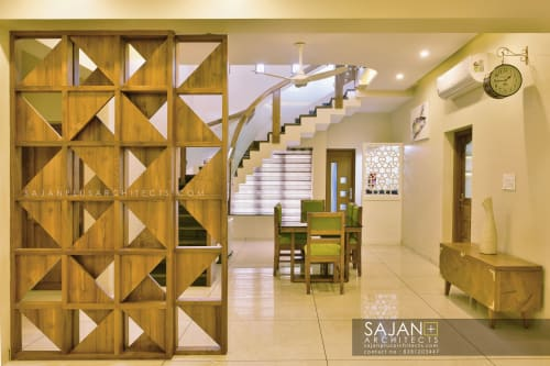 Interior Design by SAJAN+ ARCHITECTS seen at Private Residence, Kudassanad - MR.JOJJI RESIDENCE