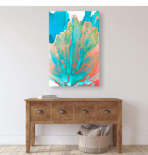 Photography by Emily M Randolph Fine Art seen at Private Residence, Scottsdale, Scottsdale - Coral Fan