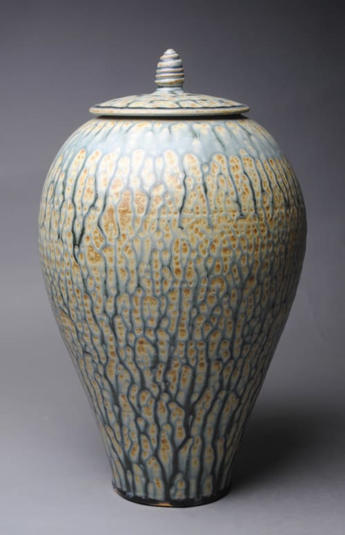 Vases & Vessels by John McCoy Pottery seen at Private Residence, San Francisco - Covered Jar