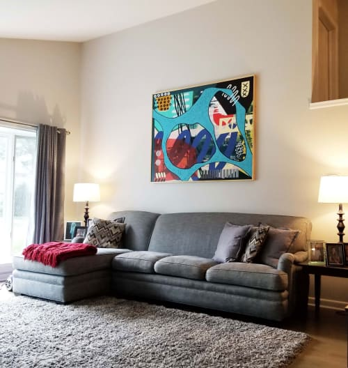 Paintings by ABDA Collective seen at Private Residence, Glenview - Untitled (Custom Painting)