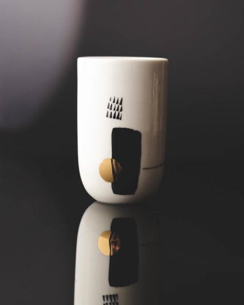 Flute mugs   Cups by Boya Porcelain