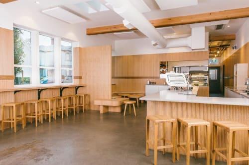 Interior Design by Studio Roslyn seen at Parsonage Cafe, Victoria - Interior Design