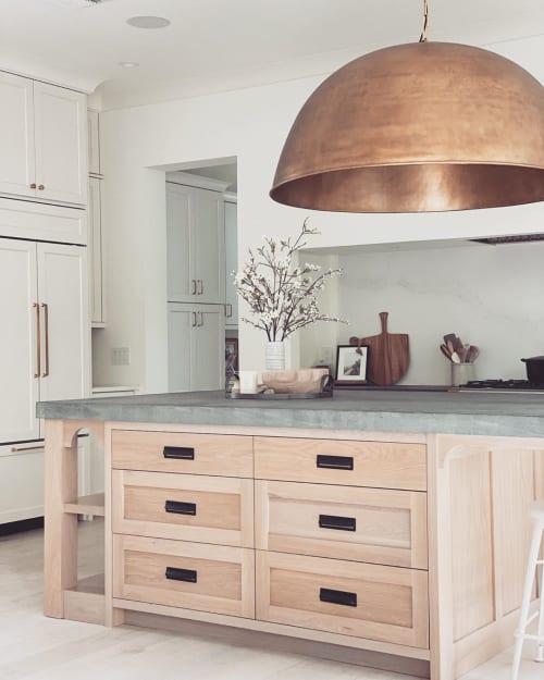 Furniture by Jessie's Cabinets seen at Work Your Closet, Winter Park - Kitchen Island Cabinet