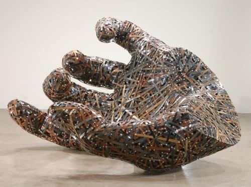 Sculptures by Andrew Ramiro Tirado seen at Studio, Steamboat Springs - Riven