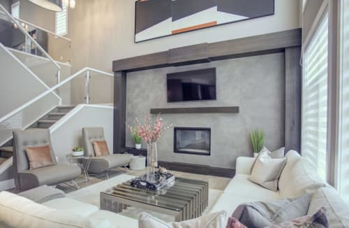 Interior Design by ANA Interiors Ltd seen at Private Residence, Calgary - Interior Design