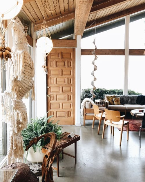Macrame Wall Hanging by Modern Macramé by Emily Katz at Cattywampus Crafts, Ojai - Macrame Wall Hanging