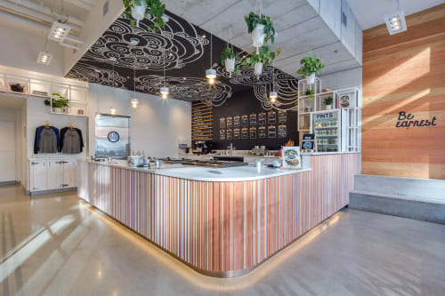 Interior Design by Janks Design Group seen at Earnest Ice Cream, North Vancouver, North Vancouver - Interior Design