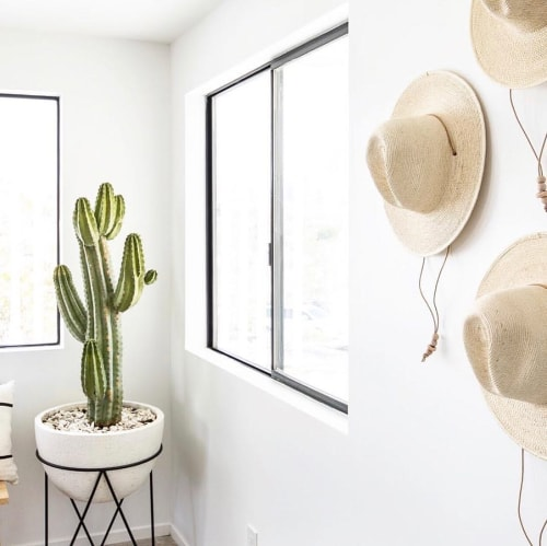 Art & Wall Decor by West Perro seen at The Joshua Tree House, Joshua Tree - Desert Dome Hats