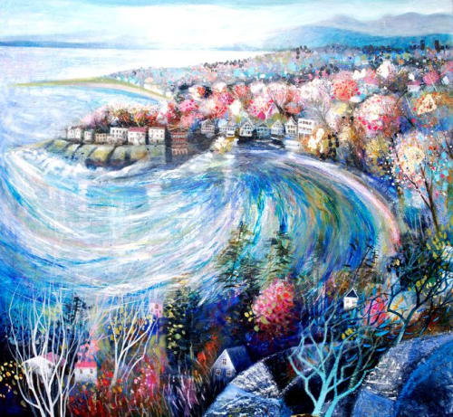 Paintings by BLYTHE SCOTT seen at Private Residence - 'Island Time'