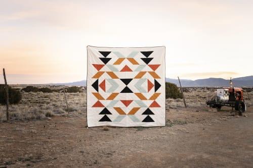 Linens & Bedding by Vacilando Studios seen at Creator's Studio, San Marcos - New Mexico Queen Quilt