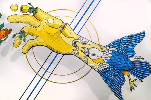 Interior Design by Godie Arboleda seen at Oveja Negra Tattoo Shop, Sabaneta - Oveja Negra tattoo shop