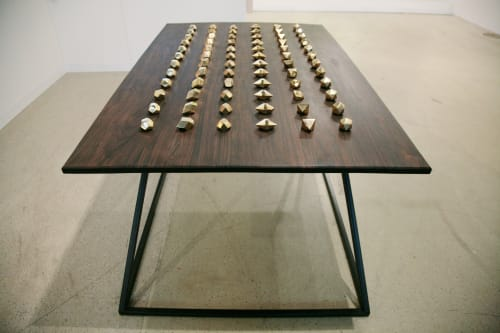 Tables by Genevieve Chua seen at Private Residence, Los Angeles - Dice Table