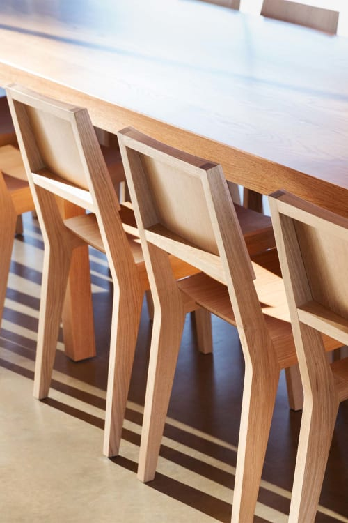 Chairs by De Vorm seen at Grace Farms, New Canaan - Wood Me Chair