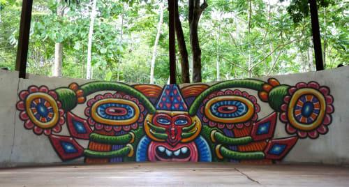 Street Murals by Chris Dyer seen at KATARI, Tarapoto - Mother Alien