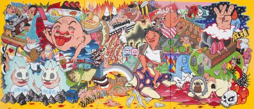 Mr.OGAY - Street Murals and Public Art
